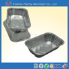 ECO-FRIENDLY disposable take-out aluminum foil food storage container/tray