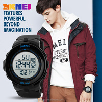 Singapore sport style watch large dial men alarm clock with competitive price