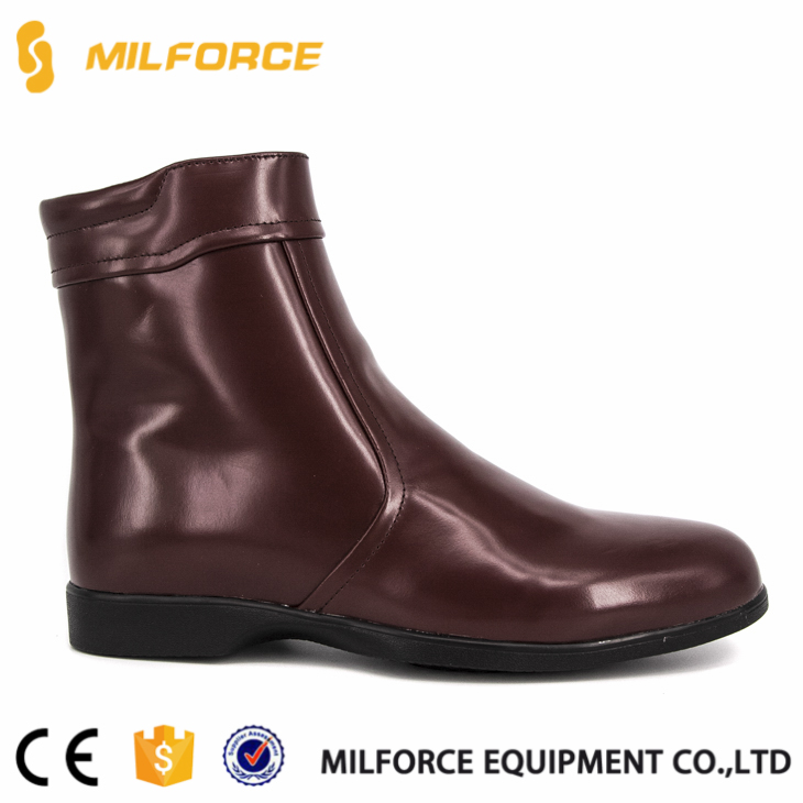 MILFORCE-custom construction comfortable no steel toe cap russian red army boots