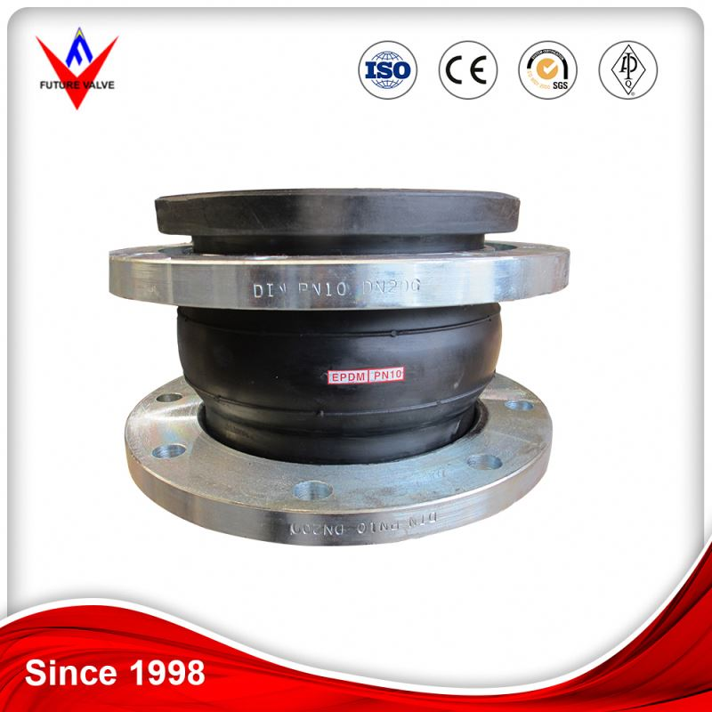 DN1800 Flanged Ends Connect Rubber Joint