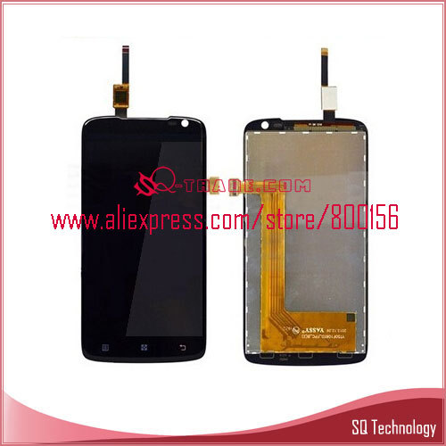Mobile Phone LCD for Lenovo S820 with Touch Screen Assembly black color