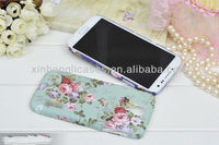 for samsung s4 flower back cover case