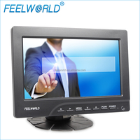 FEELWORLD 7 inch TFT LCD Car Tv lcd advertising player headrest touch monitor