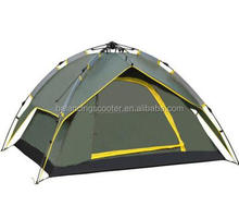 Four double automatic hydraulic amphibious camping tent