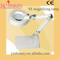 5X magnifying lamp LED working lights table top magnifying lamp with CE YS-701