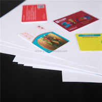 Blank Contactless Cards SIM Cards Core PVC Card-Making Material