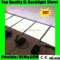 Custom El backlight panel A4/El backlight sheet panel for decoration