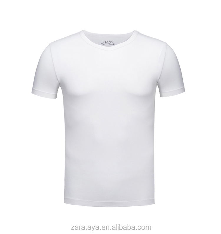 without pattern blunk fitness tshirt/dir fit summer hot salt white t-shirt/alibaba China wholesale tee shirt