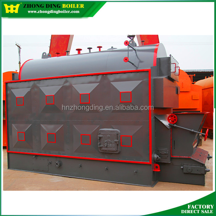 Small Appearance Automatic Coal/ Wood Pellet Fired Steam Boiler for Sale