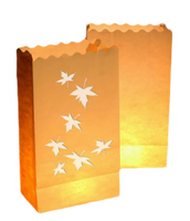 Fireproof Colored Luminary Lantern Paper Candle Bags