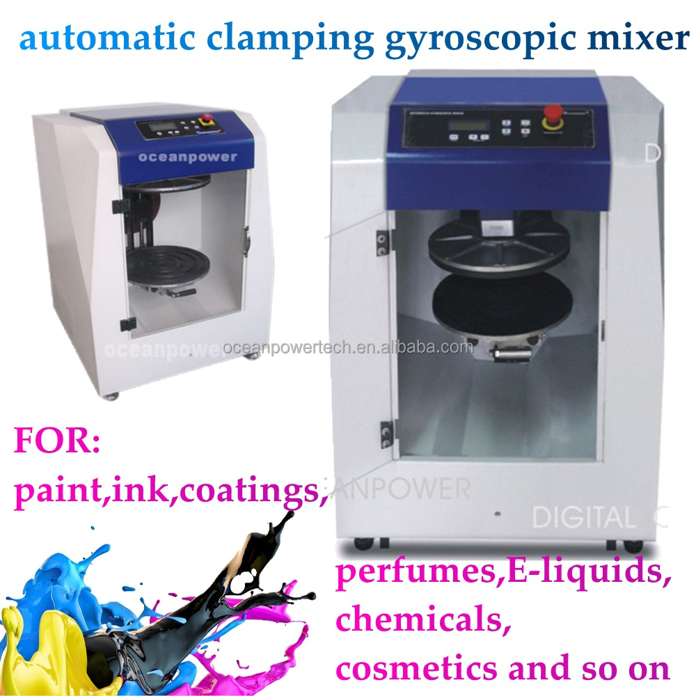 Auto mixing machine/automatic clamping mixer /liquids shaker for paint ,ink,chemical,perfumes
