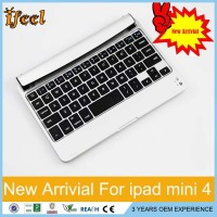Wireless Bluetooth Keyboard For iPad mini 4 Magnetic Bluetooth Keyboard Case For Apple iPad Mini 4