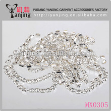Cup chain machine for wedding dress