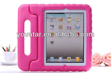 Kid-Friendly Protective Foam Shell EVA soft Case for iPad 3