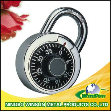 Digital combinantion padlock padlock with master key
