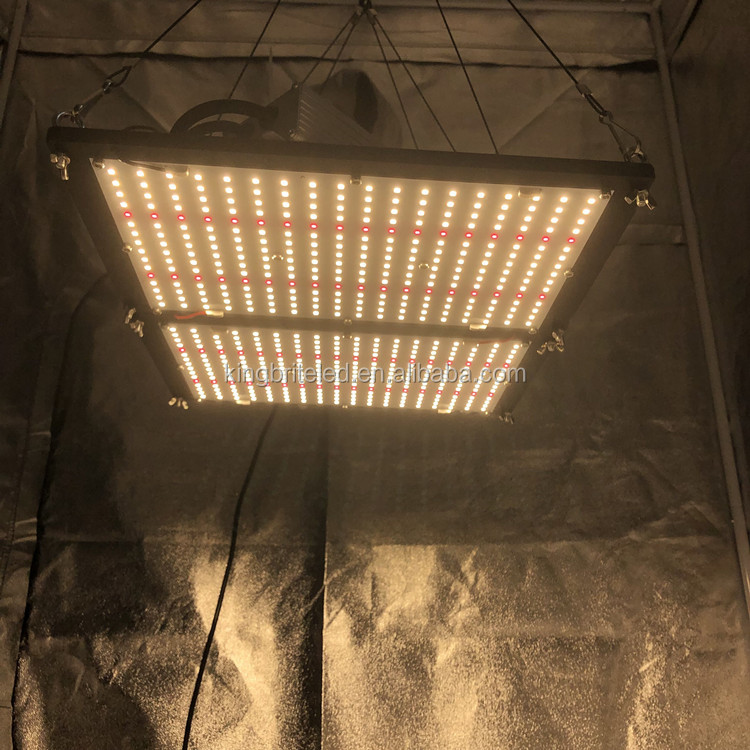 Kingbrite led board qb288 v3 240W lm301h with epistar red 660 led grow light with separate radiator