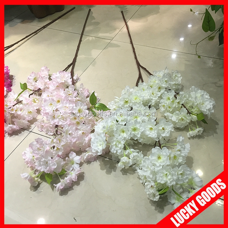 Hot selling artificial decorative cherry blossom branches wholesale