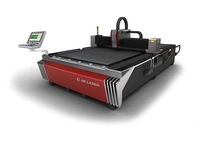 500w / 1000w stainless steel fiber laser cutting machine for sheet metal processing / kitchen ware / elevators