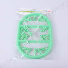 Hot Selling plastic clothes hanger rope hanging of oval plastic clothes hangers