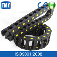 Flexible CNC Conveyor Drag Cable Wire Plastic Link Chain