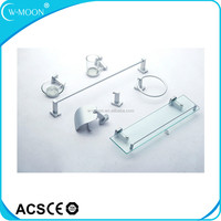2015 New Design Cheap Space Aluminum Chrome Bathroom Accessory Set