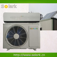 heating and cooling solar air conditioning unit 9000-24000BTU solar hybrid wall split air condition