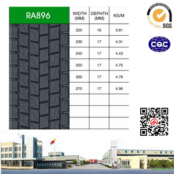 RA896 PRECURED TREAD RUBBER-ANJI TREAD