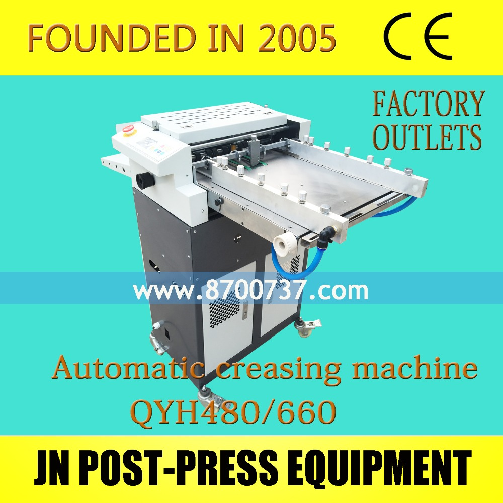 Auto Feeder Paper Die Cutting and Creasing Machine, Electric Automatic Paper Perforating and Creaser