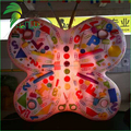 Coloful Printing Stage Decoration Inflatable Insect Butterfly Valve Balloon
