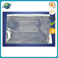 2013 Costom transparent PVC makeup tools bag