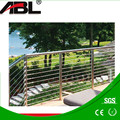 Balcony railing post accessories polish stainless steel glass balcony railing /stainless steel terrace design