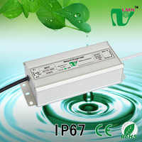 output 40-50V 1500mA 75W Waterproof LED driver IP67