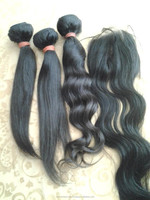 Indian hair extensions wholesale, excellent 10 - 40 inch straight vigin human hair