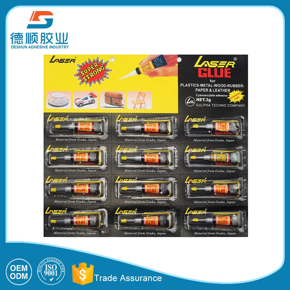 OEM super adhesive 3 seconds glue for many using