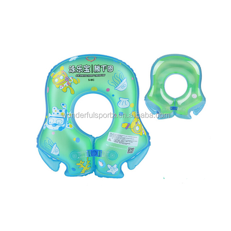 Summer Baby Swiming Trainer Inflatable Infant Neck Ring Floater
