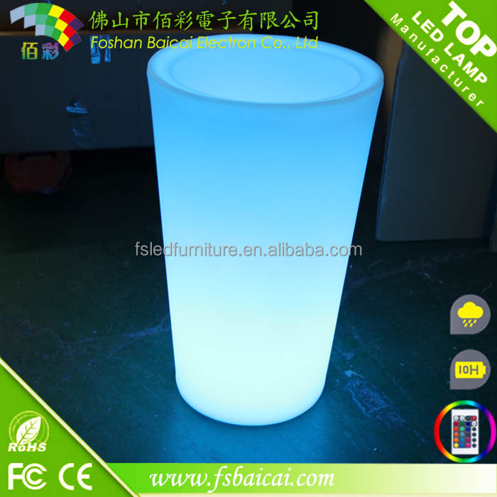 2017 New design outdoor led plant pot light wholesale online