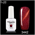 New Type L&M Nail Supplies Shining Rainbow color Nail Polish UV Gel