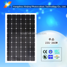 High Efficiency TUV Crystalline Silicon Solar Modules 240watt