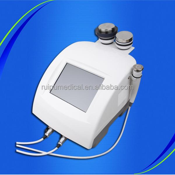 Multi-polar RF body slimming vacuum cavitation cosmetic skin care