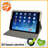 Hot selling top quality pu leather tablet case for ipad mini 2, smart cover case for ipad mini 2