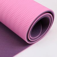 High Quality Eco-Friendly TPE/NBR/EVA/Natural Rubber Yoga Mat with Customized Size