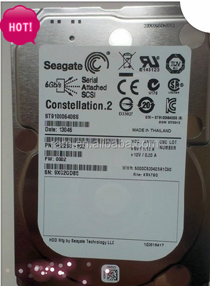 "NEW ~HOT SALE ! SEAGATE SERVER HDD 146G 15K 2.5 "" SAS hard disk drive.ST9146852SS"