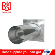 Newest Round Roof Jack Flashing Galvanize Steel Tube Connector