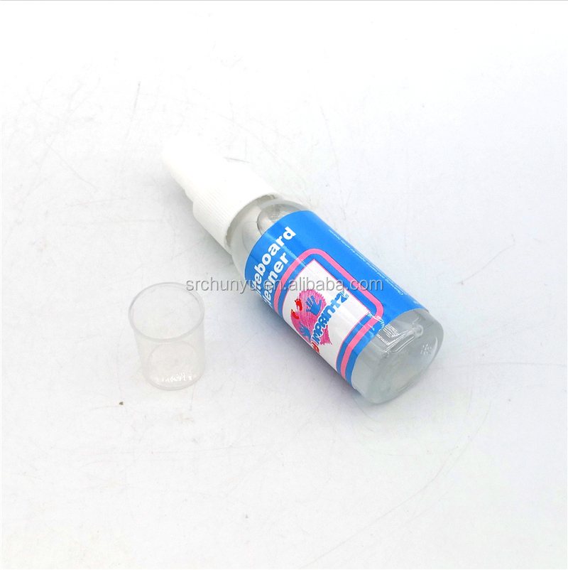30ML Whiteboard Cleaner Spray Dry Erase Board Liquid Cleaning Liquid Non-Toxic