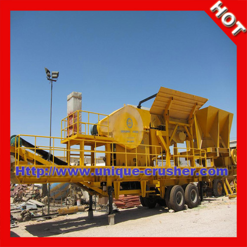 2013 YDS50 Mobile Construction Waste Recycling Plant Manufacturer