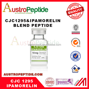 CJC-1295 and Ipamorelin blend peptide research purpose hot sale 4 mg 10mg 20mg hexarelin
