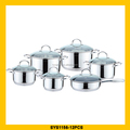 Hot selling stainless steel coking pot cookware with great price