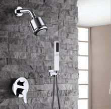 Modern Bathroom Copper Conceal Square Rain Shower