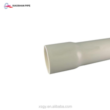 Electrical conduit PVC sch 40 4 inch diameter with bell end