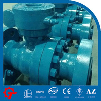 low torque manual gear operated ball valve